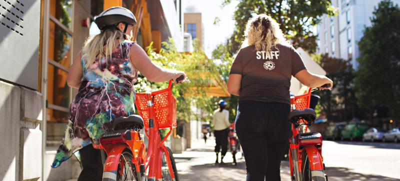 "Portland Debuts ""BIKETOWN For All"""